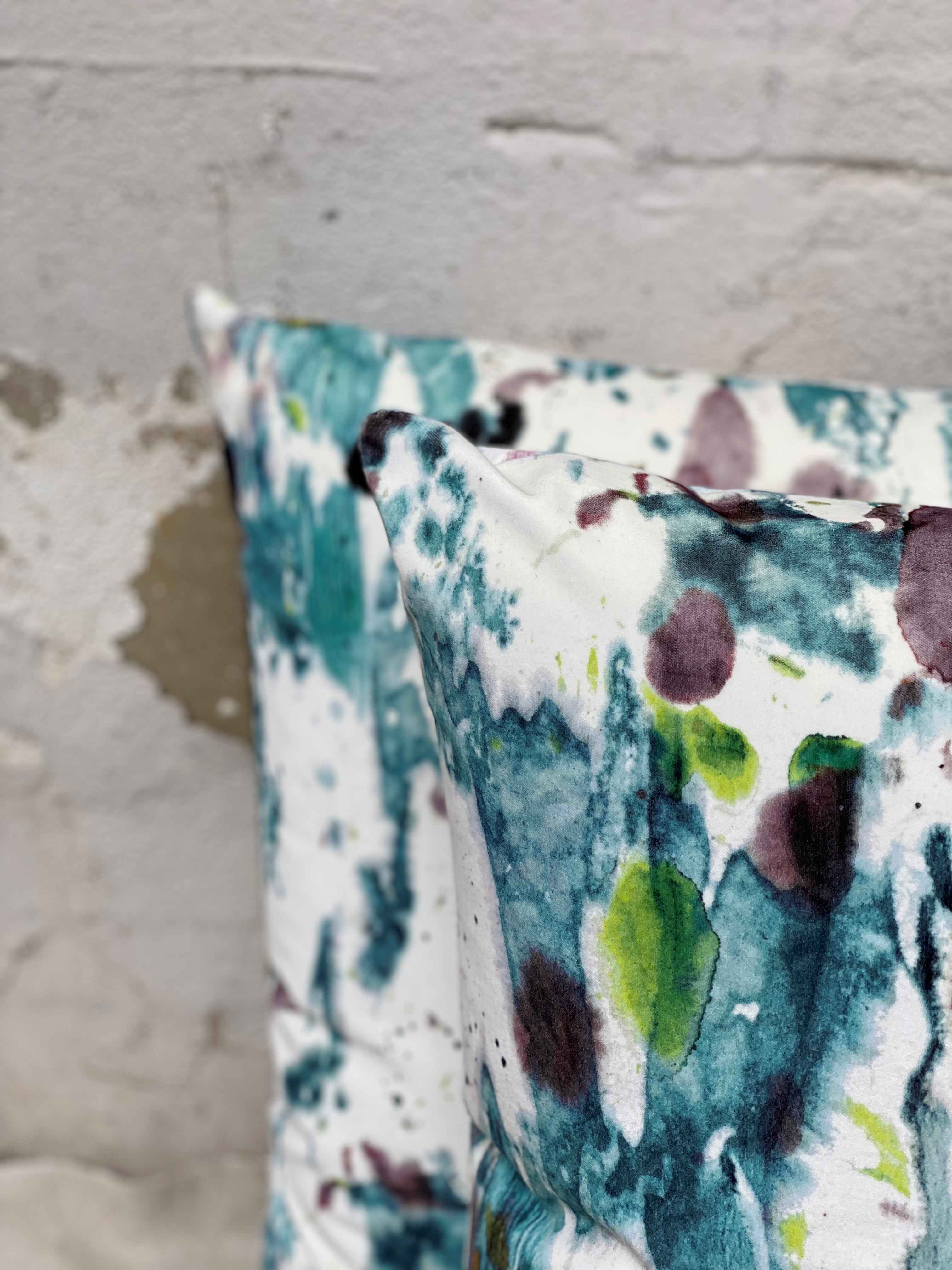 Watercolored Pillows