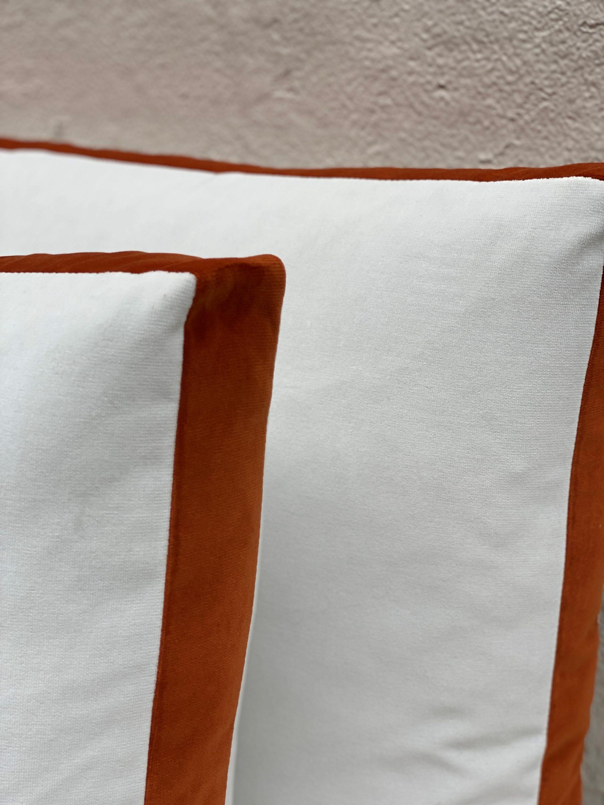 Velvet Boxed Pillows