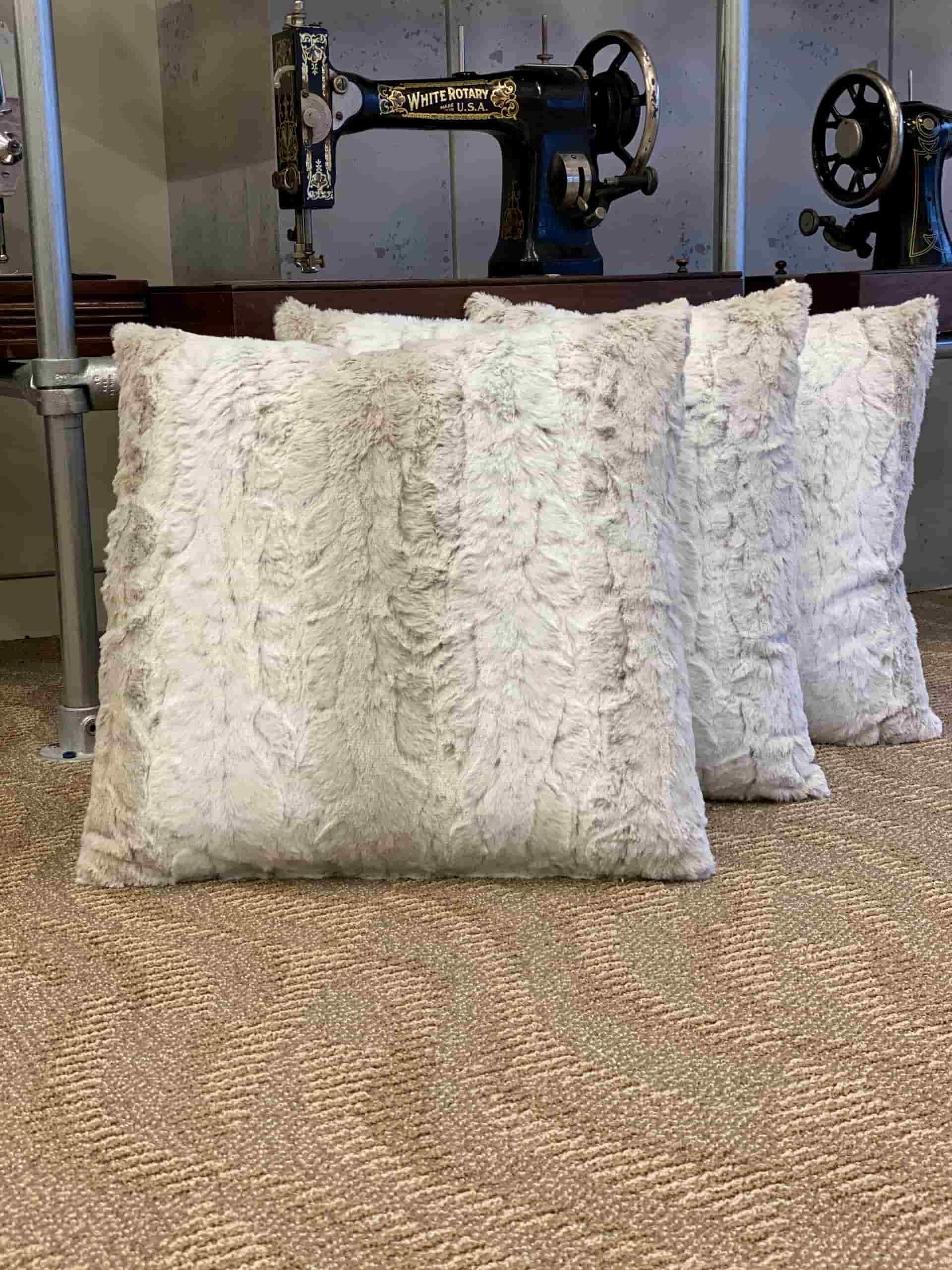 Fur Pillows