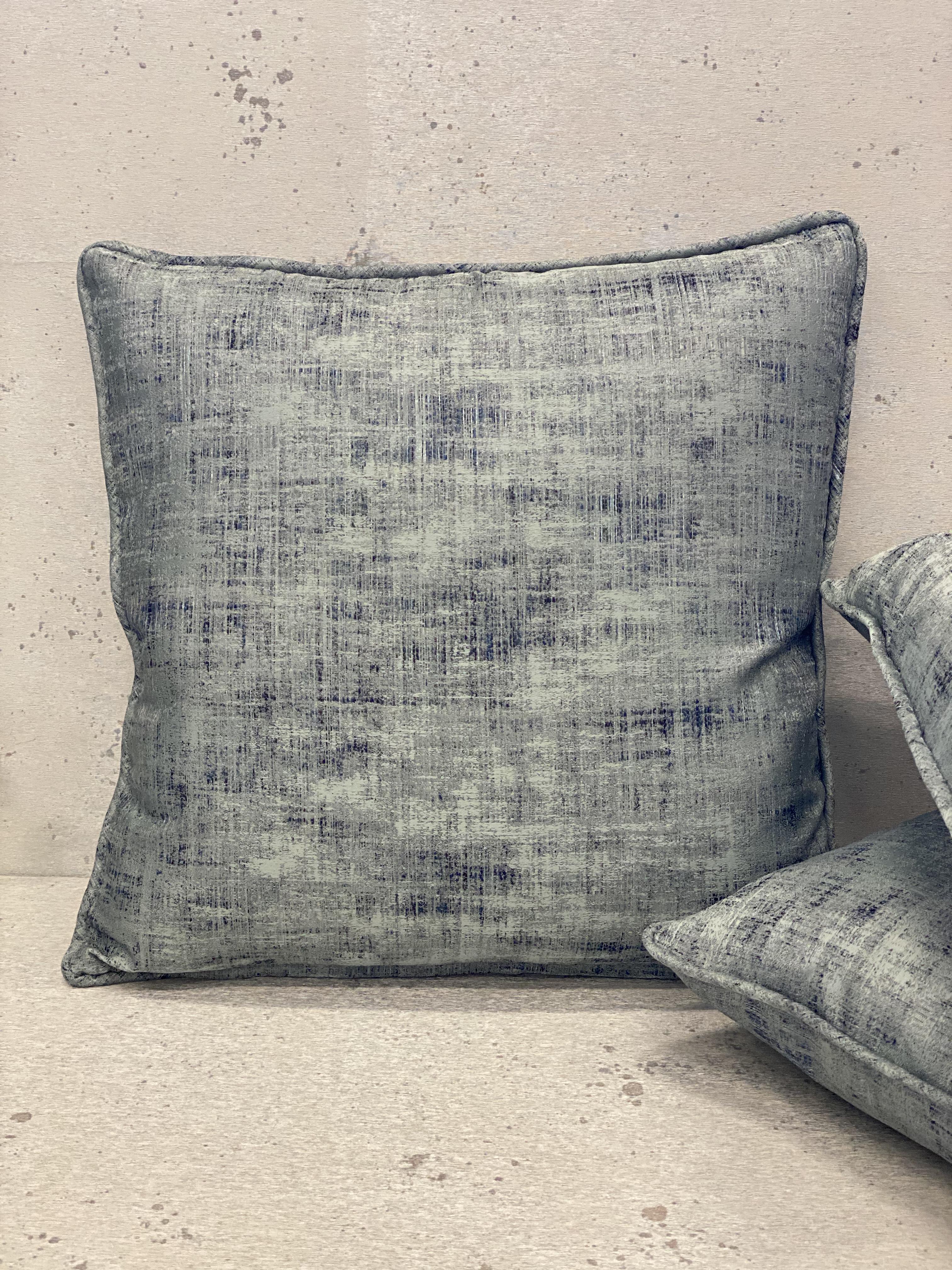 Abstract Silk Pillows
