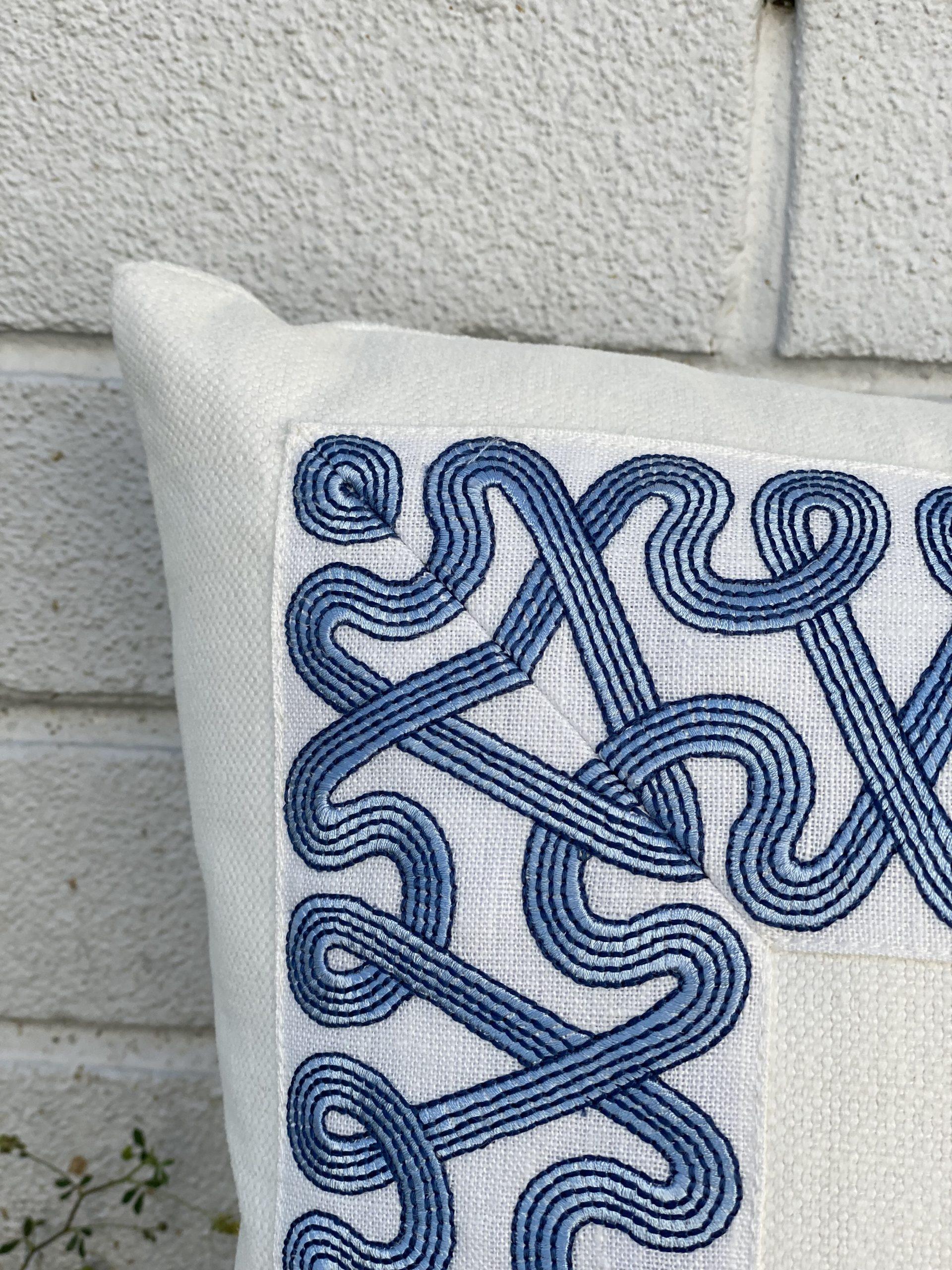 Pillows w/Schumacher Trim