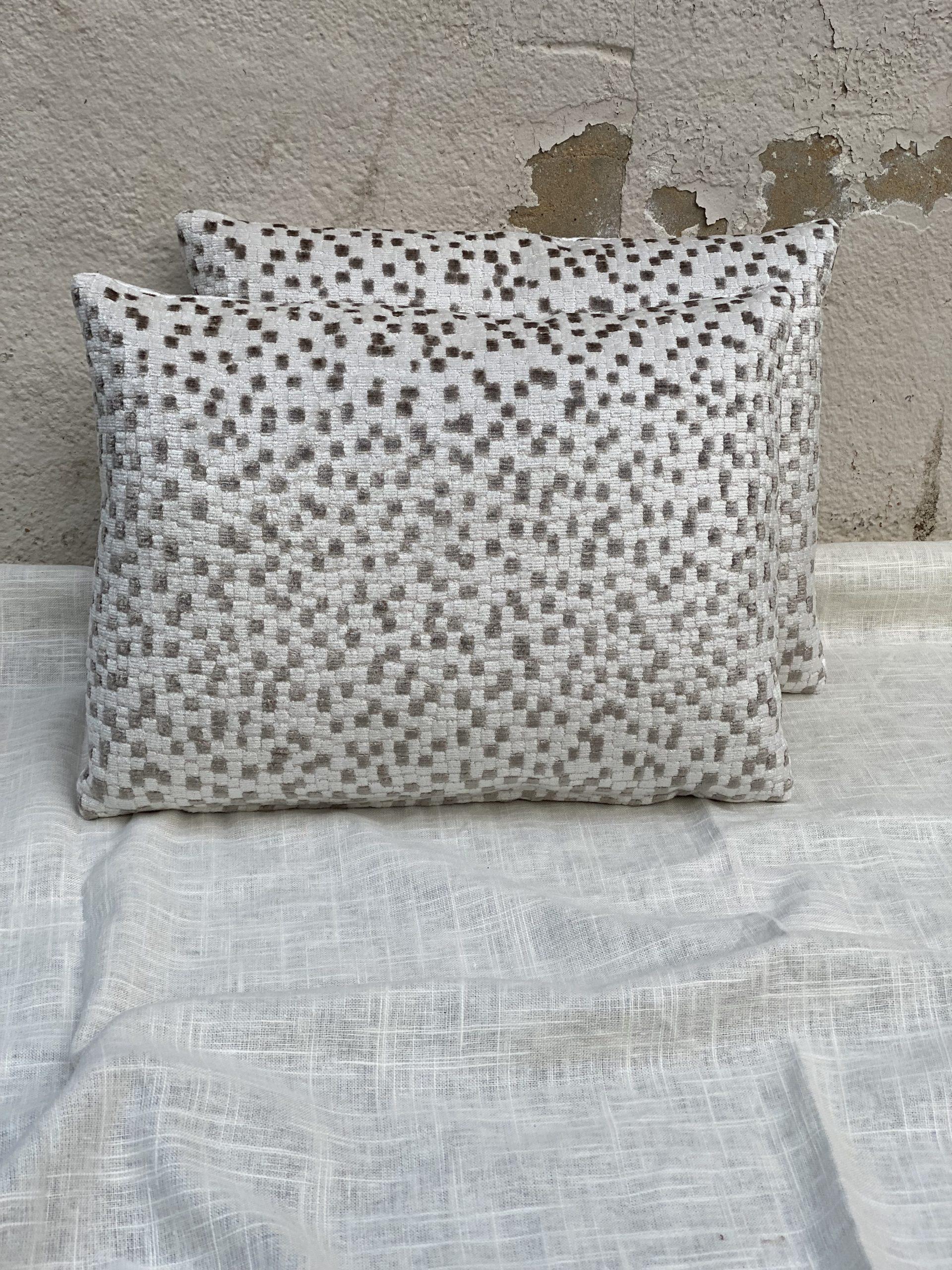 Mosaic Pattern Pillows