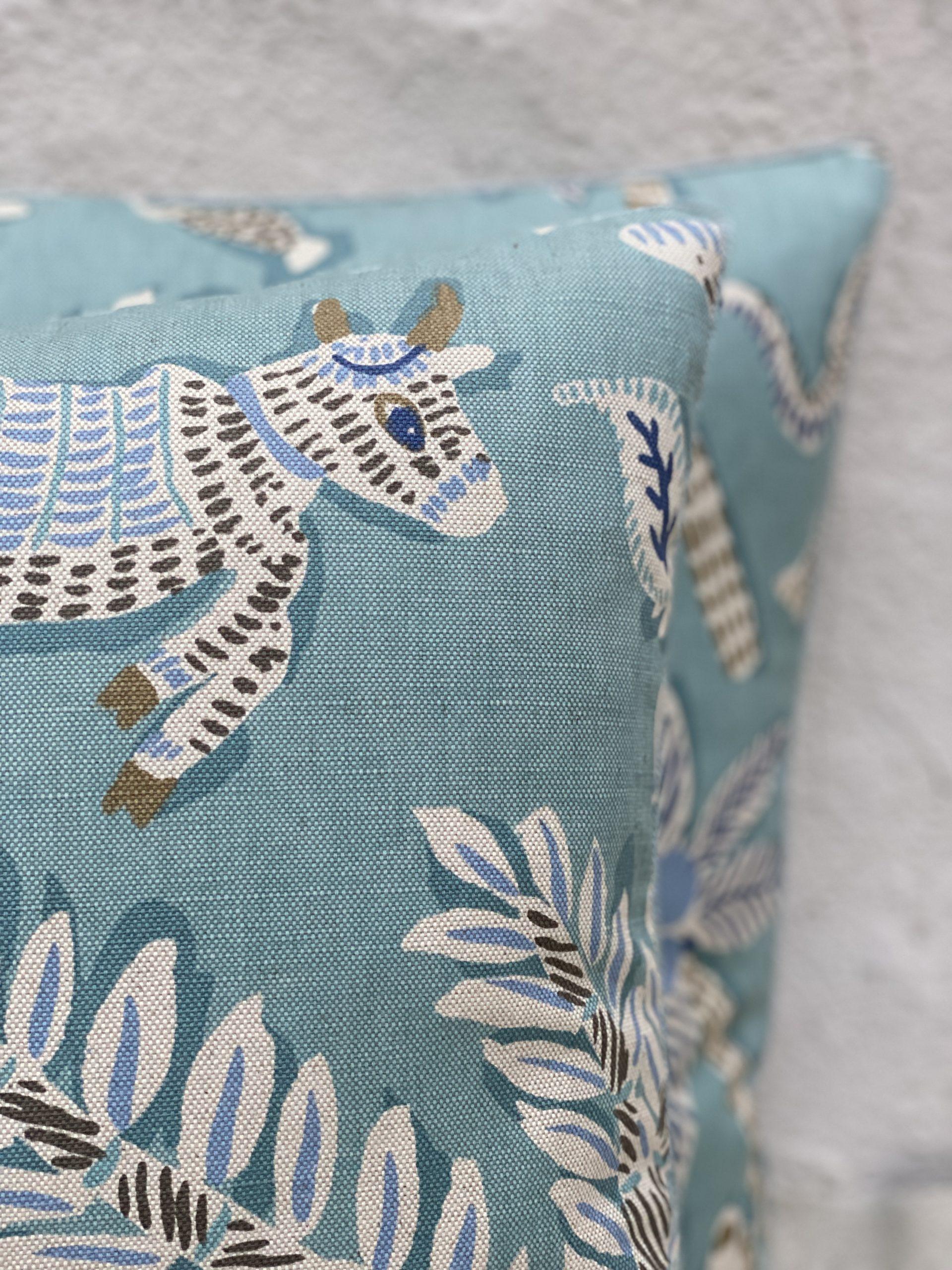 Palindrome Design Pillows
