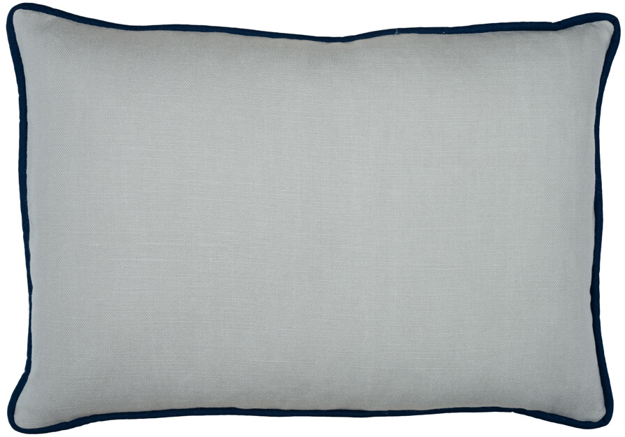 Add Piping Different Fabric Than Pillow