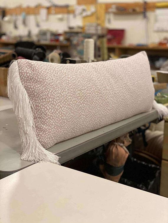 Rectangle Pillows + Fringe