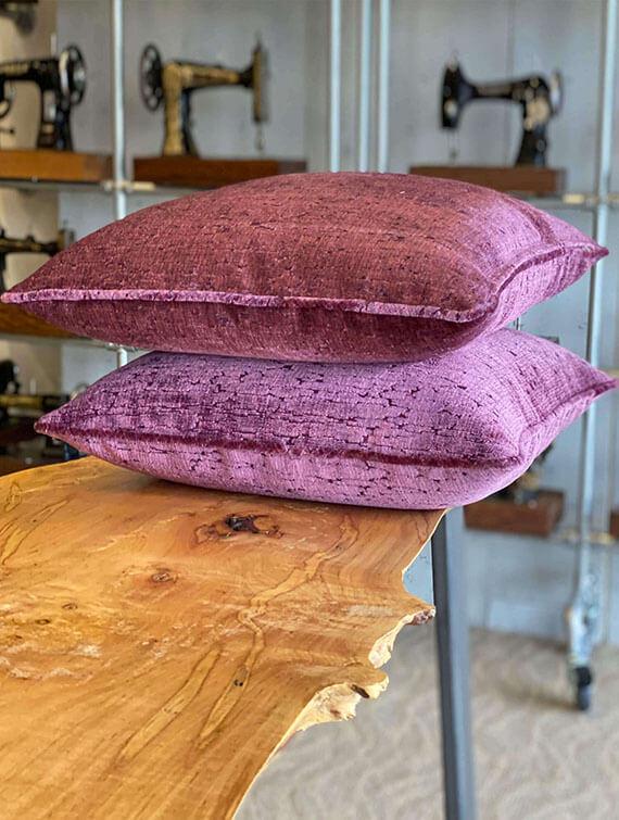 Plum Pillows