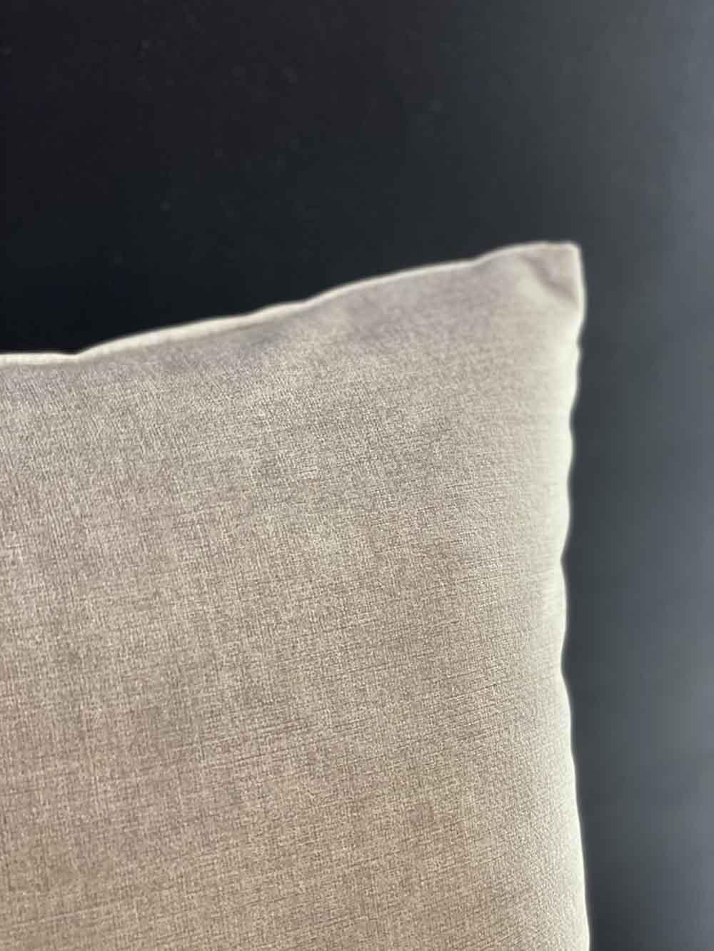 Grey Velvet Pillow